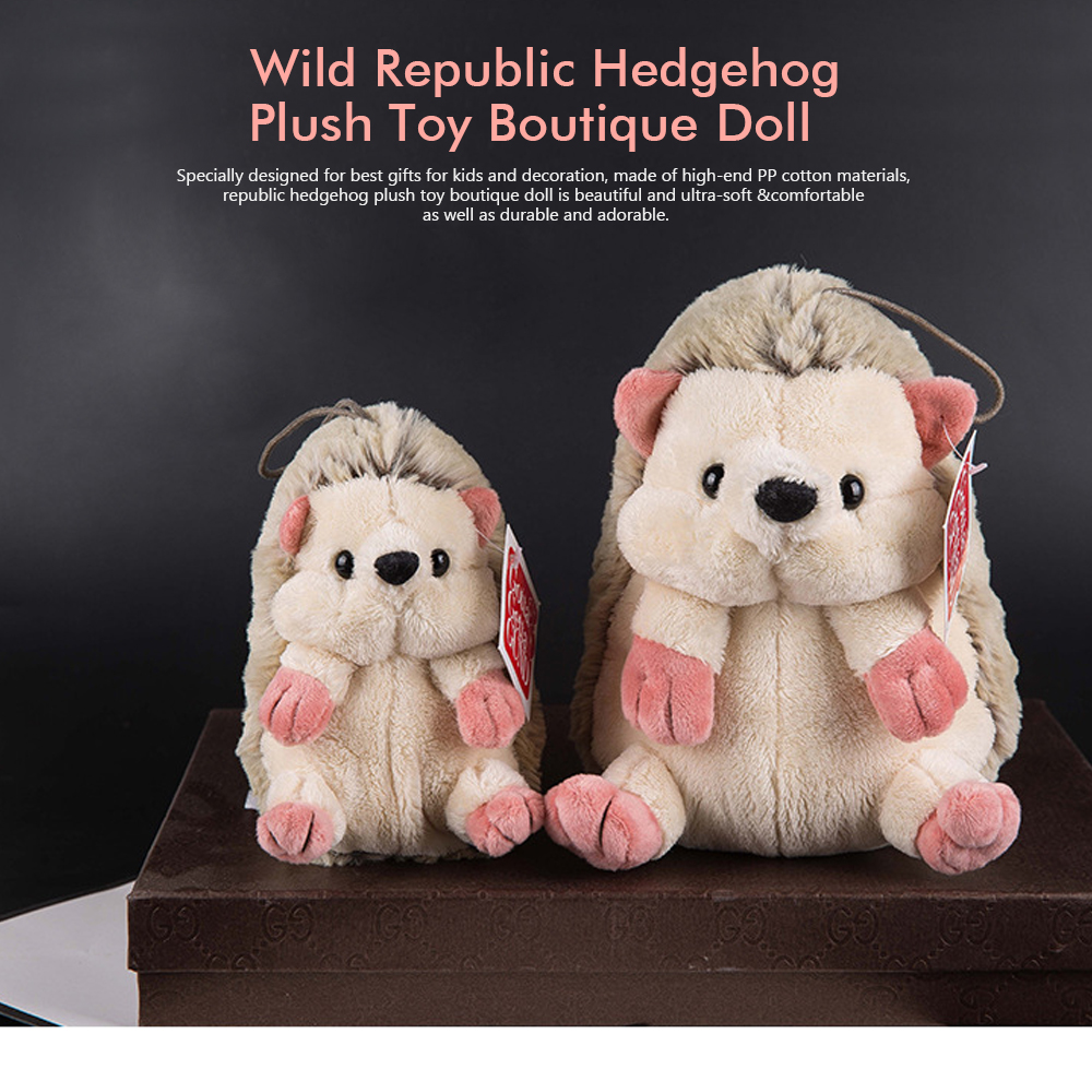 Hedgehog Plush Toy Boutique Doll, Creative for Car Accessories, Gifts for Kids and Small Pendant Key Pendant 0
