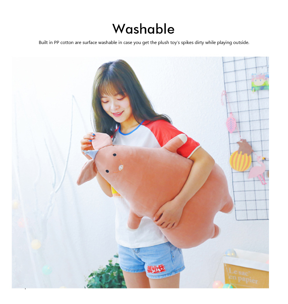 Cute Sleeping Pillow Doll, Plush Toy Doll Washable Removable Long Pillow for Girlfriend As Gifts 2