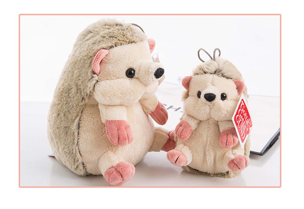 Hedgehog Plush Toy Boutique Doll, Creative for Car Accessories, Gifts for Kids and Small Pendant Key Pendant 5