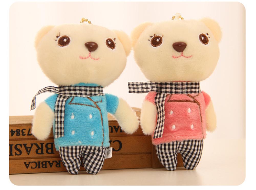 Windbreaker Rabbit Plush Toy, Bunny Bear Doll Small Pendant For Children And Shopping Mall Furnishings 6