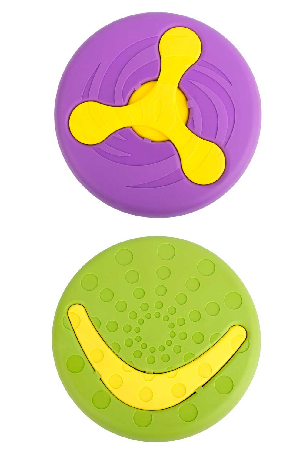 Creative Dog Frisbee, Bite Resistant Plastic Dog Frisbee Toy For Throwing Training, 2 Style 8
