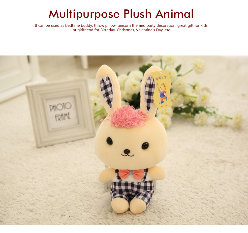 Bunny Plush Toy Grab Doll Machine Doll Cute Gege Rabbit Doll Festival Activities Gift 5
