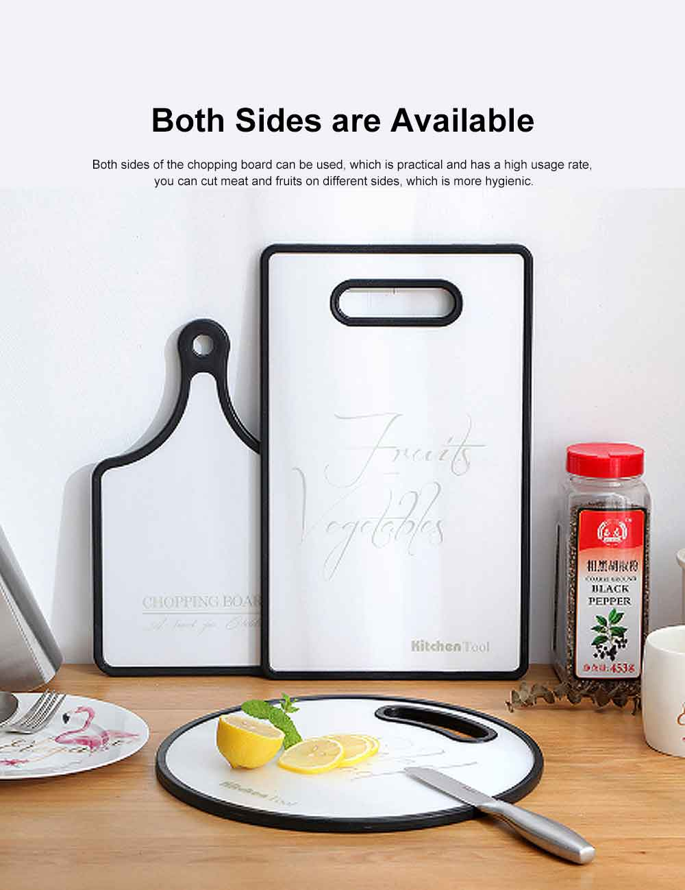 Vegetable Fruit Cutting Board, Baking Bread Board, Kitchen Environmental Protection Chopping Board 2