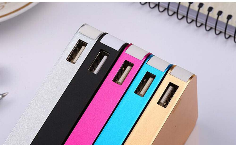 Power Bank 20000mAh, Ultra Thin Phone Charging External Battery Charger Power Bank for Cell Phone, 2 USB Socket 19