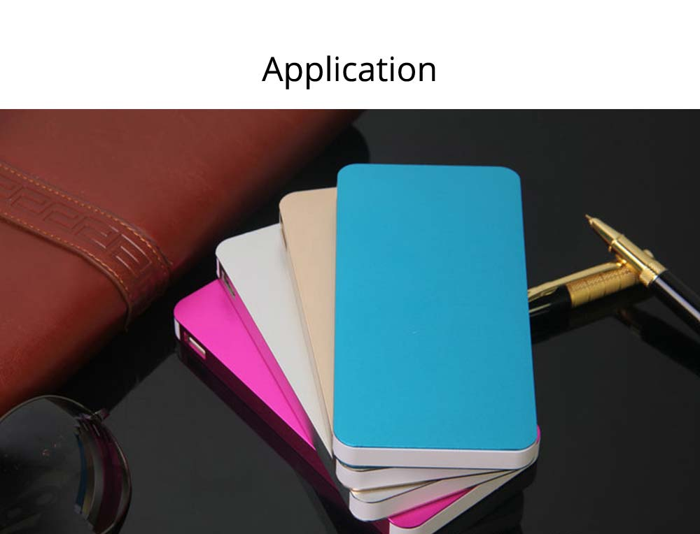 Power Bank 20000mAh, Ultra Thin Phone Charging External Battery Charger Power Bank for Cell Phone, 2 USB Socket 17