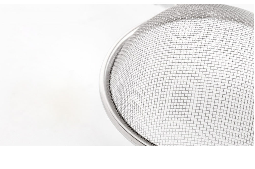 High Quality Mesh Stainless Steel Strainers, All Purpose Food Strainer and Colander Sieve for Superior Baking and Cooking Preparation, Set of 3 4