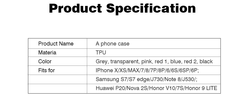 4.7-6.5 inch Soft Phone Case for iPhone Samsung Huawei, Rhombus TPU Phone Cover, Transparent Rhombus Pattern Phone Case 9