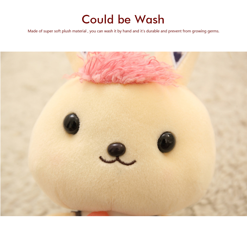 Bunny Plush Toy Grab Doll Machine Doll Cute Gege Rabbit Doll Festival Activities Gift 2