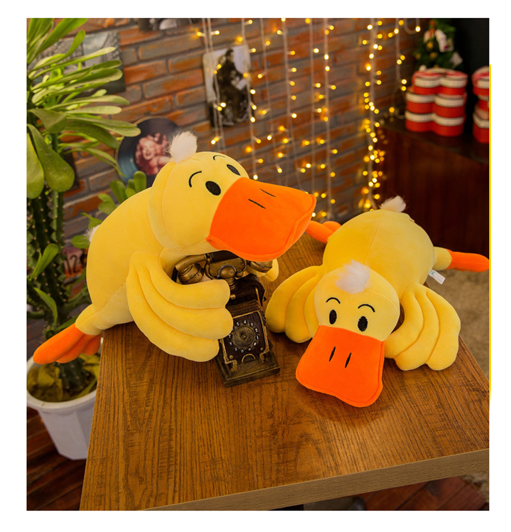 Yellow Duck Plush Toy, Grab Doll Claw Toy, Cute Duck Doll Festival Activities Gift 8
