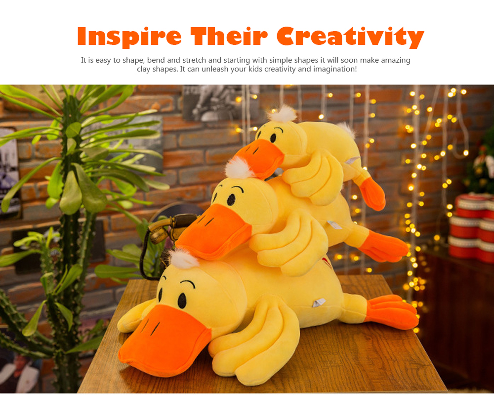 Yellow Duck Plush Toy, Grab Doll Claw Toy, Cute Duck Doll Festival Activities Gift 2