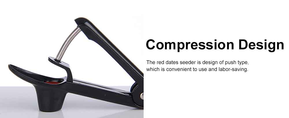 Stainless Steel Red Dates Corer Tool Cheery Seeder, Easy Removal Core Seeder Multifunctional Coring Tool 2