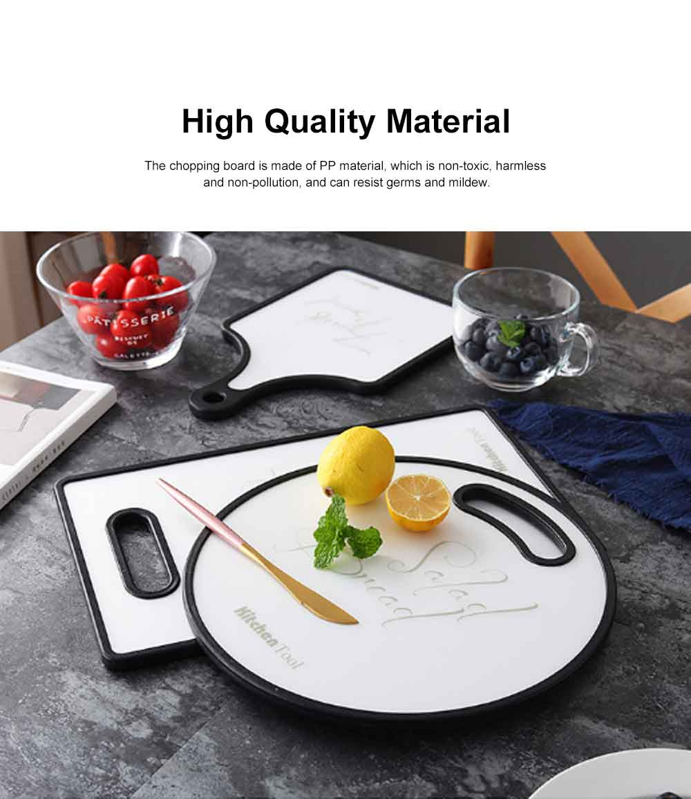 Vegetable Fruit Cutting Board, Baking Bread Board, Kitchen Environmental Protection Chopping Board 1