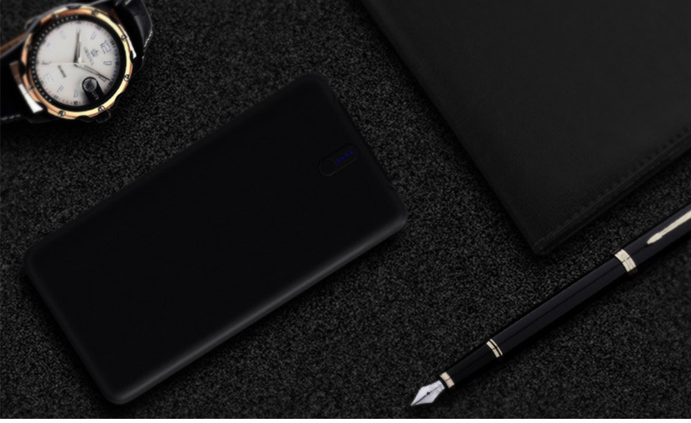 Slim Power Bank 20000mAh Large Capacity, Dual Inputs 2 Output Ports, Compatible Smartphone, Tablet 16