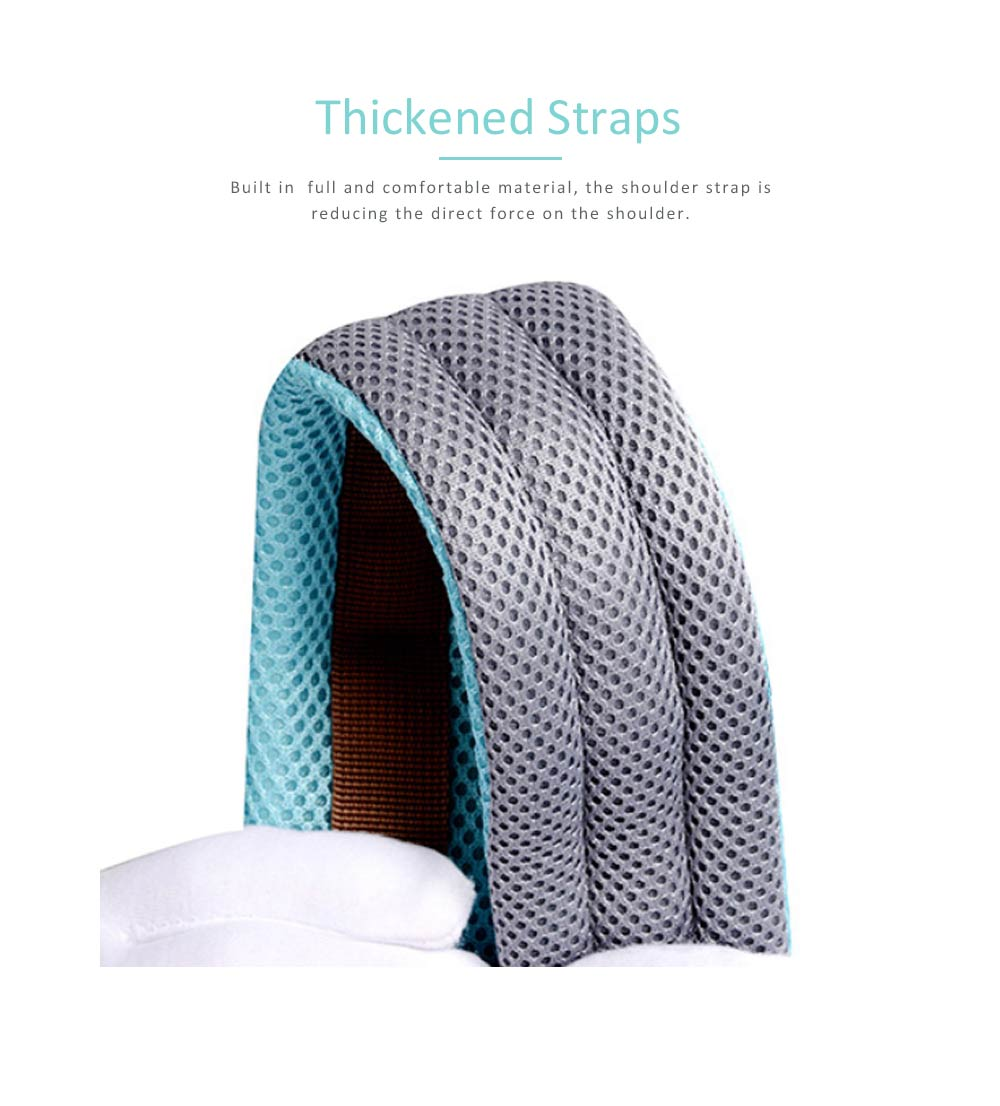 Breathable Baby Carrier, Multi-Functional Wrist Steel Strap With 3D Breathable Mesh Cloth For Baby 5