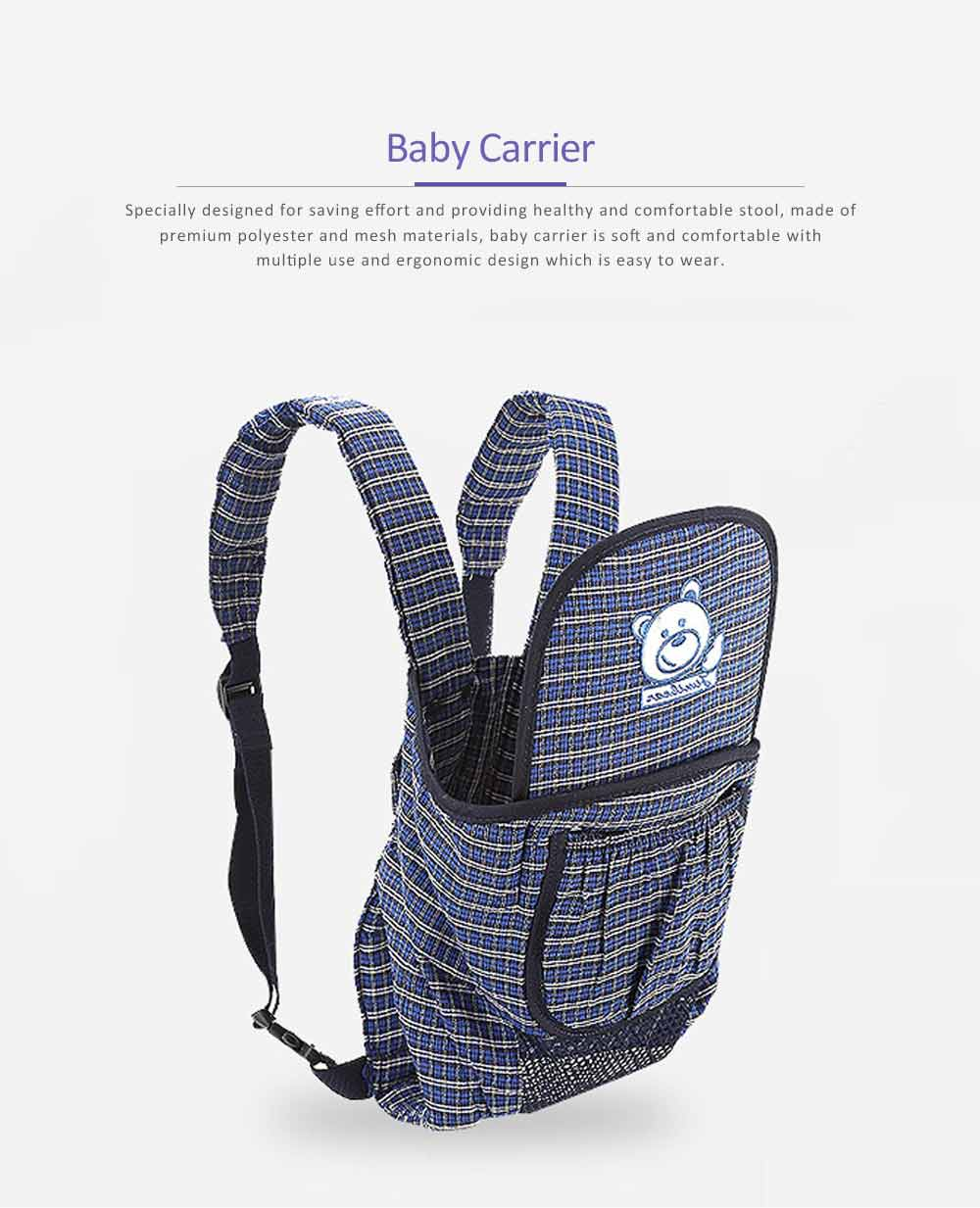 Baby Carrier Backpack with Breathable and Detachable Strap, Multifunctional Baby Carrier for Four Seasons General 0