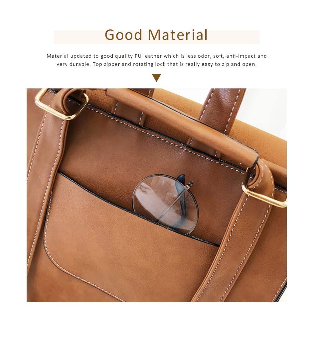 Tassels Handbags College School Bag Large Capacity Backpack Vintage Casual Flap PU Leather Shoulder Bag 1