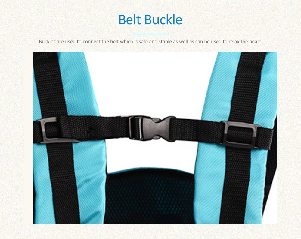 Breathable Baby Carrier for Summer, Durable Baby Lab with Multiple Functions and Storage Bag 4