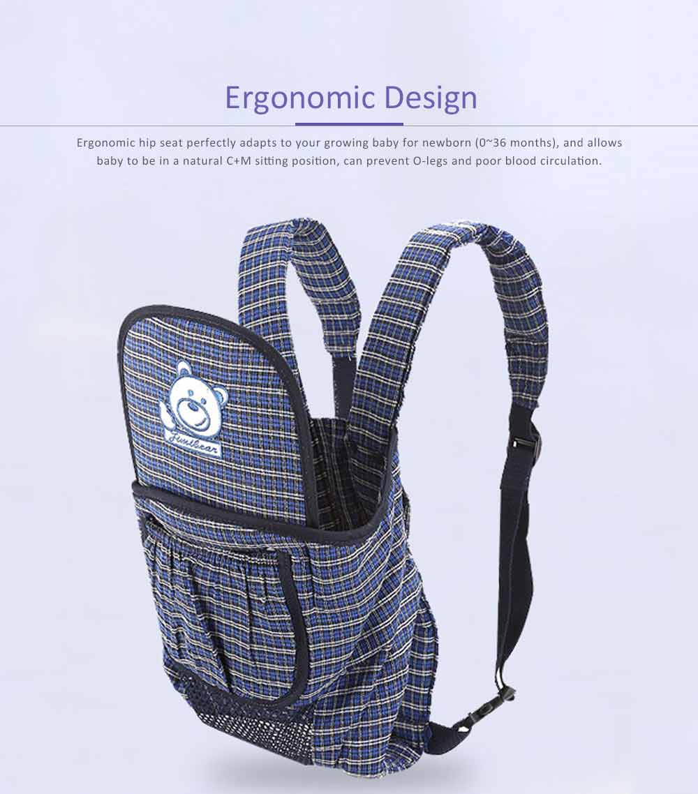 Baby Carrier Backpack with Breathable and Detachable Strap, Multifunctional Baby Carrier for Four Seasons General 4