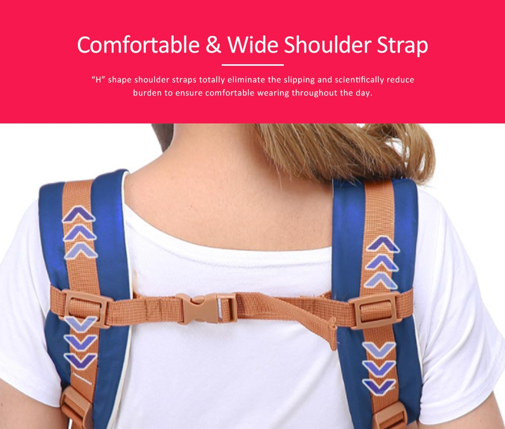Breathable Baby Carrier, Durable Baby Lab with Multiple Functions and Storage Bag for Four Seasons General. 2