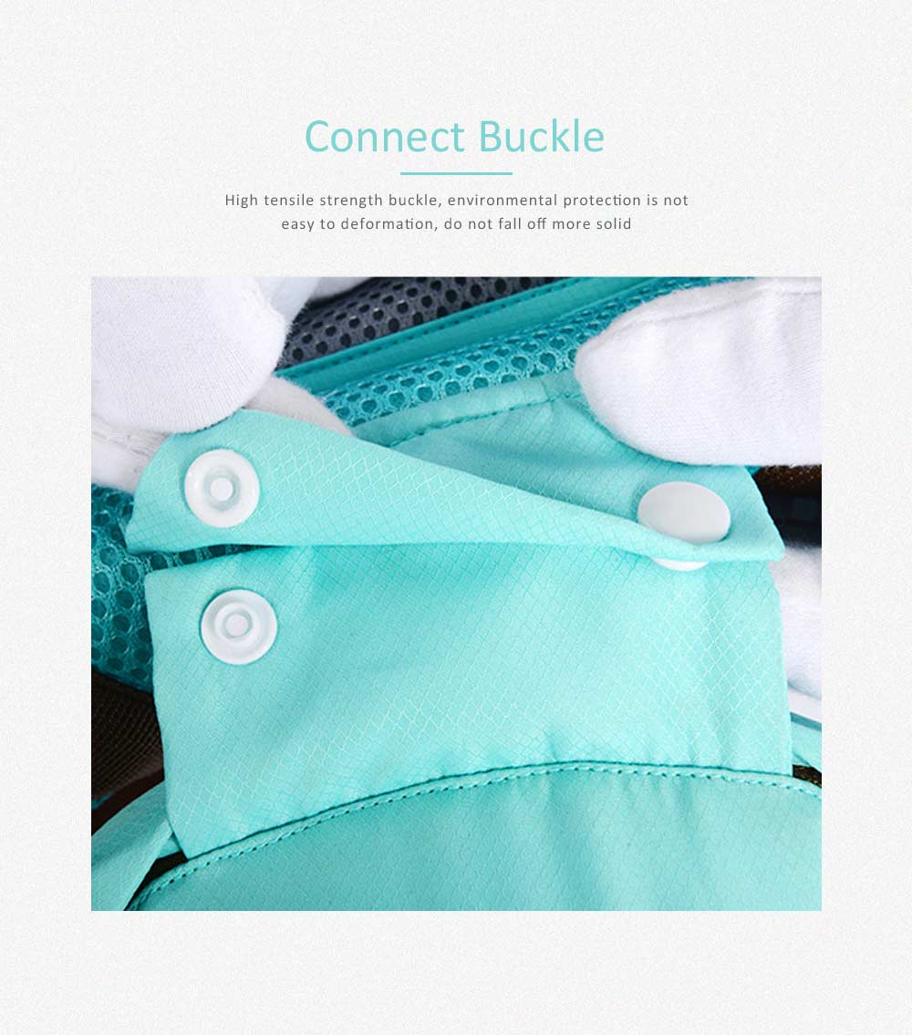 Breathable Baby Carrier, Multi-Functional Wrist Steel Strap With 3D Breathable Mesh Cloth For Baby 2