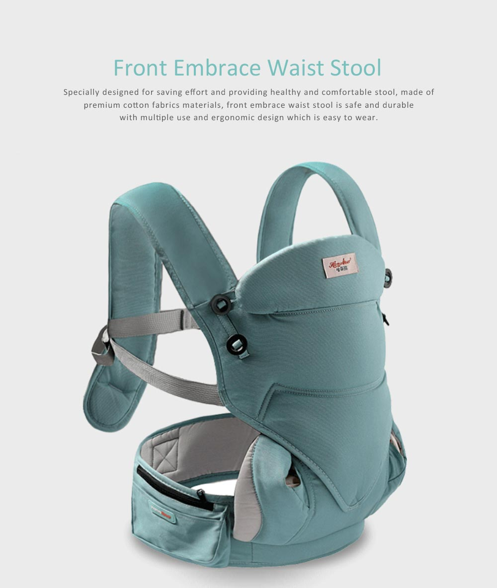 Baby Waist Stool Front Embrace Type, Baby Carriers Adjustable Shoulders Embrace Babies Waist Stool 0