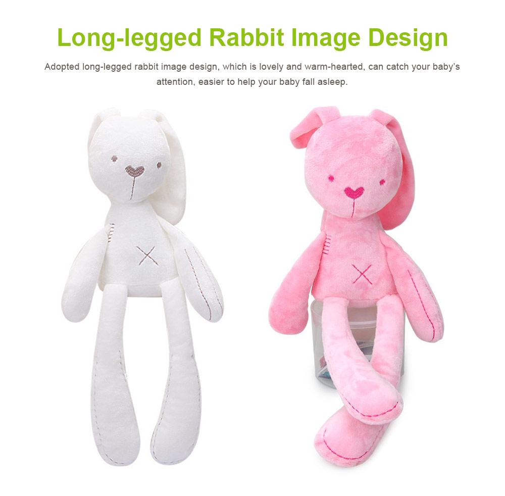 Long-legged Rabbit Sleeping Toys, Lovely Infant Baby Doll Bunny Toy for Kids 3