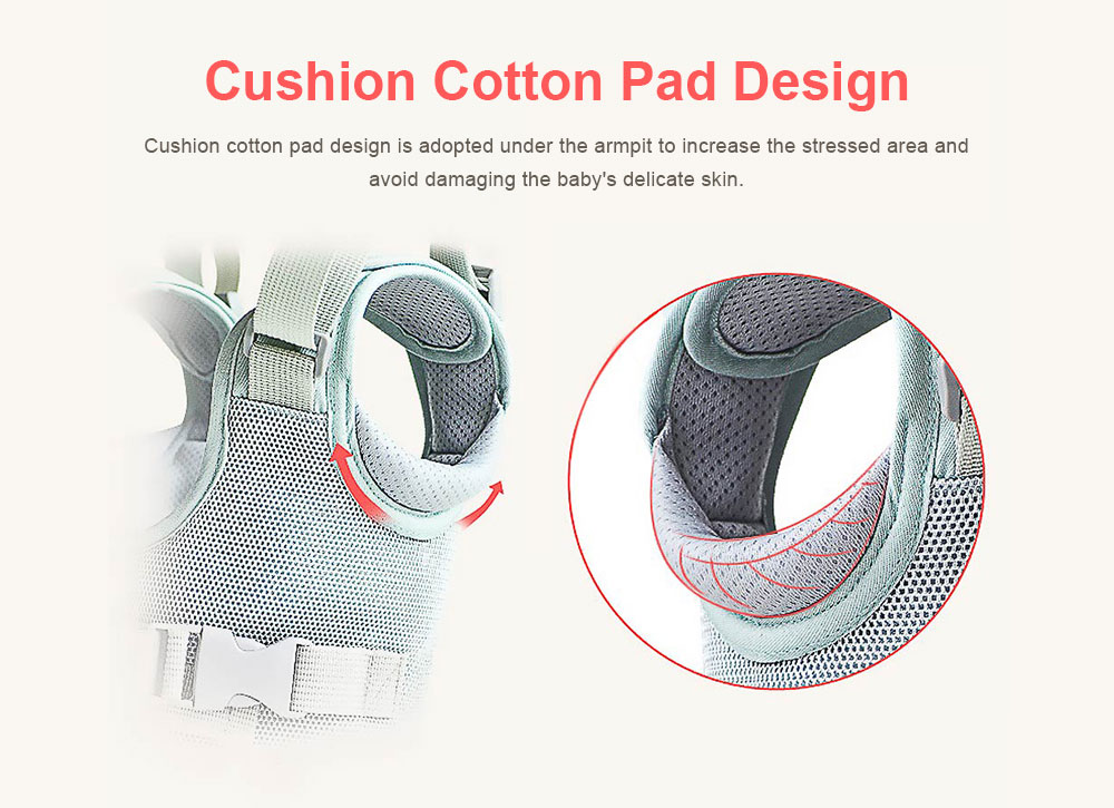 Anti-tumble Baby Toddler Belt Walking Assistant, Walk Learning Belt for Kids Safety Breathable Walking Harness Walker Four Seasons Universal 5