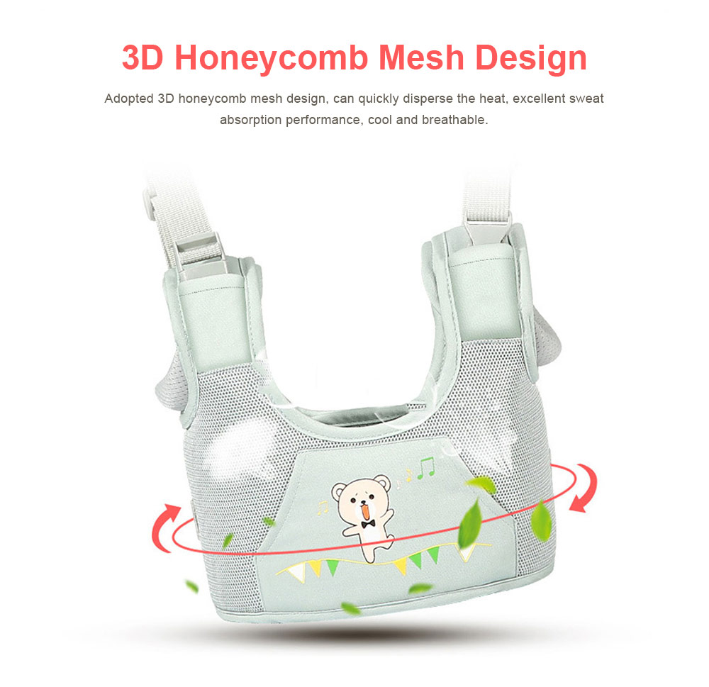 Anti-tumble Baby Toddler Belt Walking Assistant, Walk Learning Belt for Kids Safety Breathable Walking Harness Walker Four Seasons Universal 2