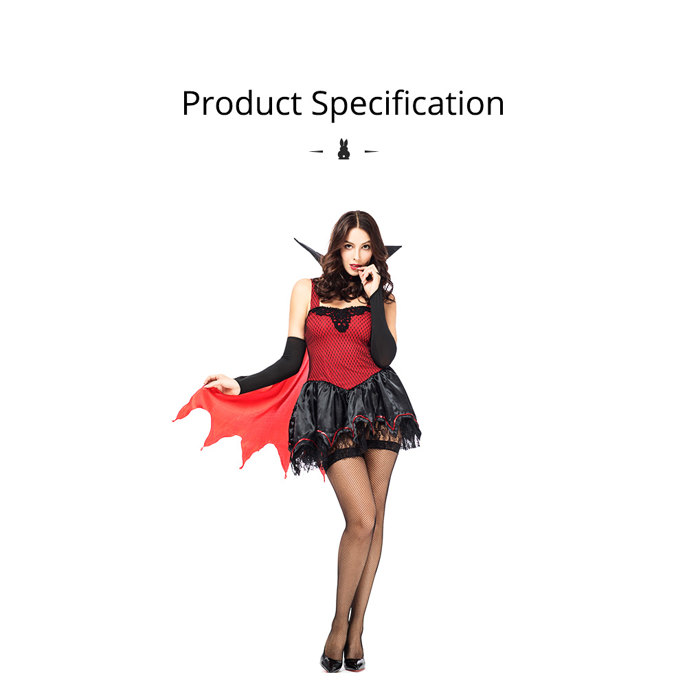 Red Riding Hood Easter Costume, Halloween Costumes for Women Adult Cosplay Dress Role Playing Costume 6