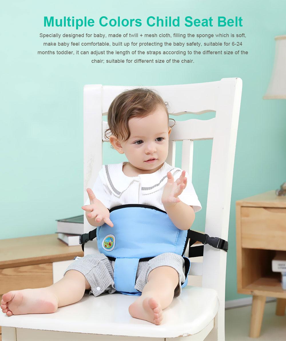 Infant Baby Dining Belt Dinning Eating Strap, Kids Anti-Falling Waistband Safety Belt Fixed Belt 0