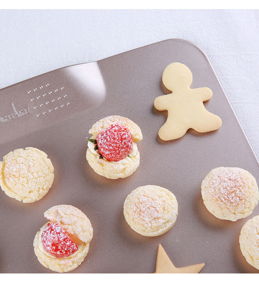 Boundless Double-sided Non-stick Baking Tray Tools For Macaron Biscuit Bread Puff 7