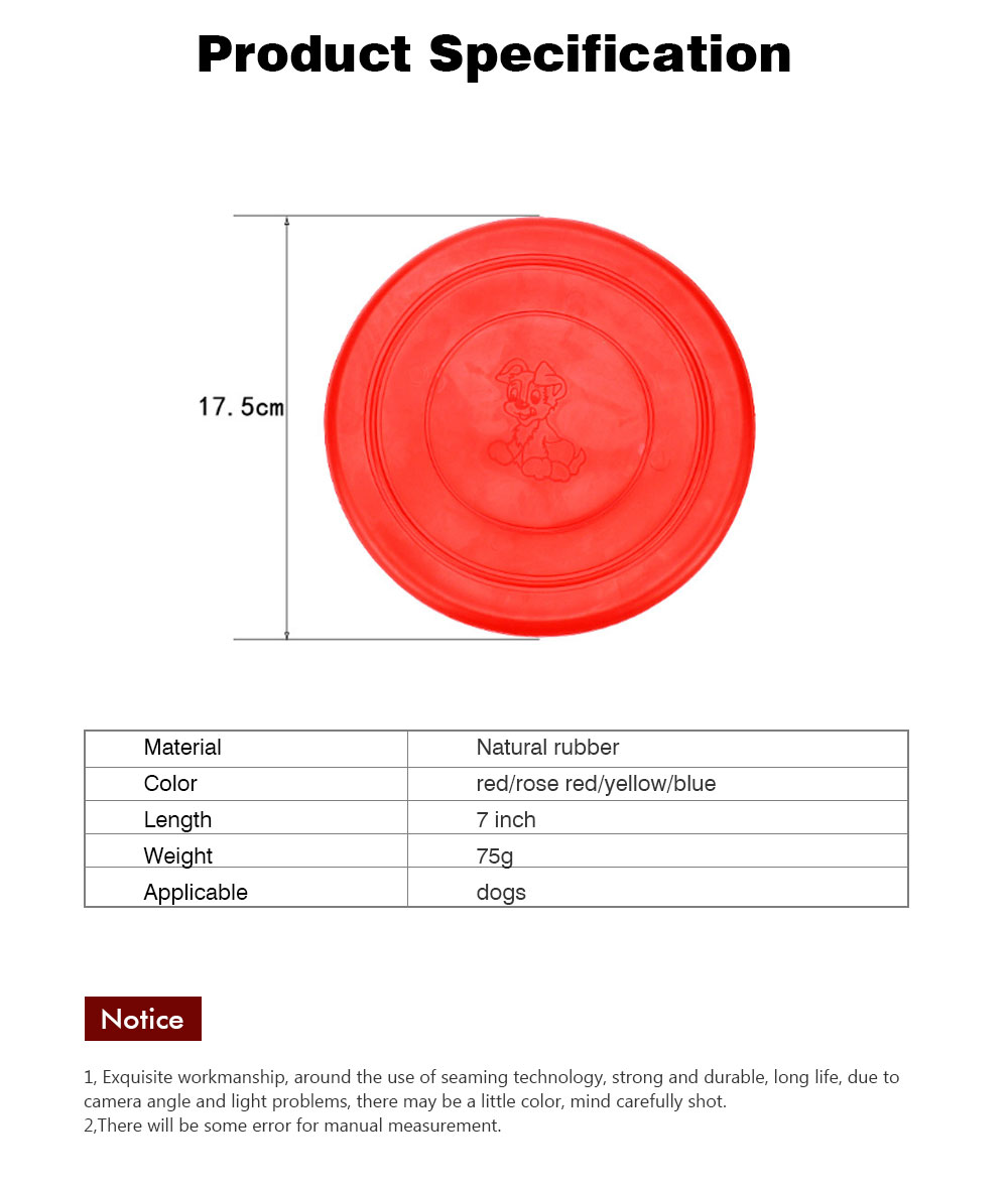 Dog Silicone Soft Frisbee Toy Bite Resistant for Throwing Interactive Pets Training Outdoors 7