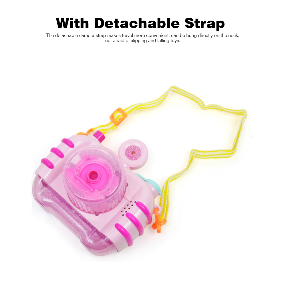 Sea Star Bubble Camera Light Music Electric Blowing Bubble Square Toy for Children to Play 4