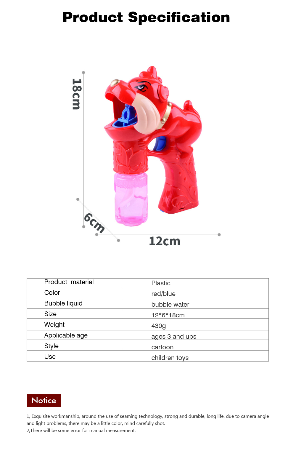Children's Electric Bubble Gun, Glowing Music Blowing Bubble Toy, Automatic Bubble Machine With Bubble Water 8
