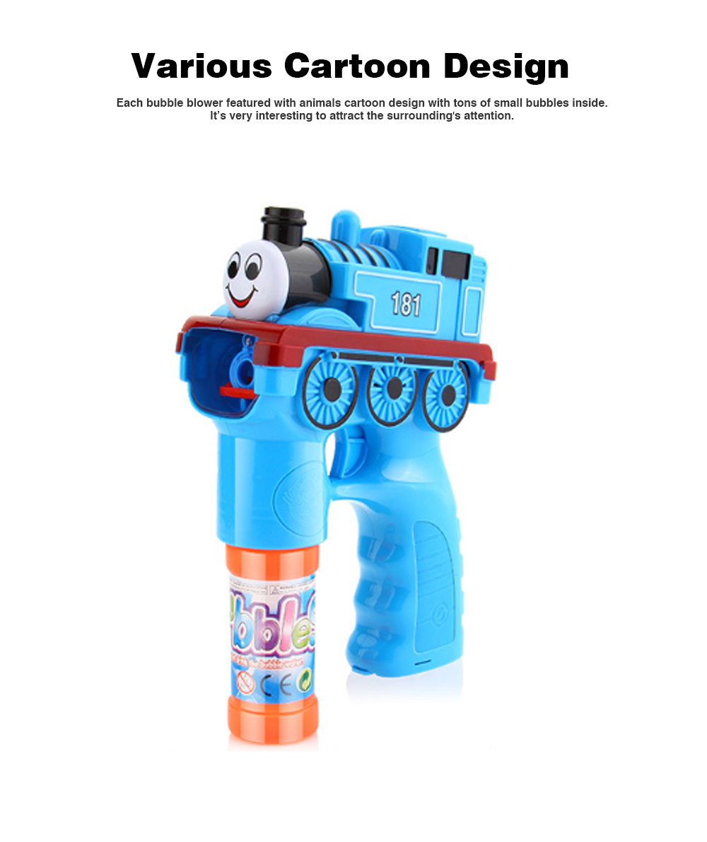 Bubble Gun Toy For Blowing Bubble, Led Bubble Gun With Electric Music 1