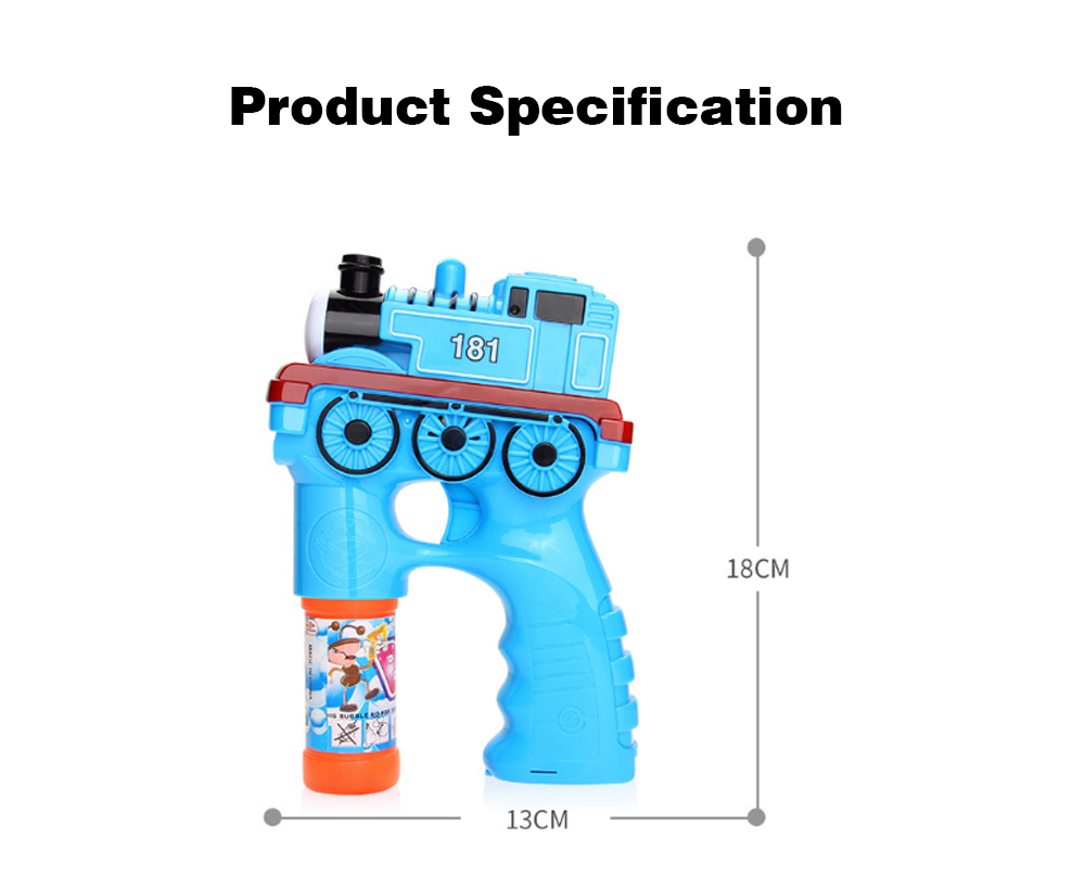 Bubble Gun Toy For Blowing Bubble, Led Bubble Gun With Electric Music 8