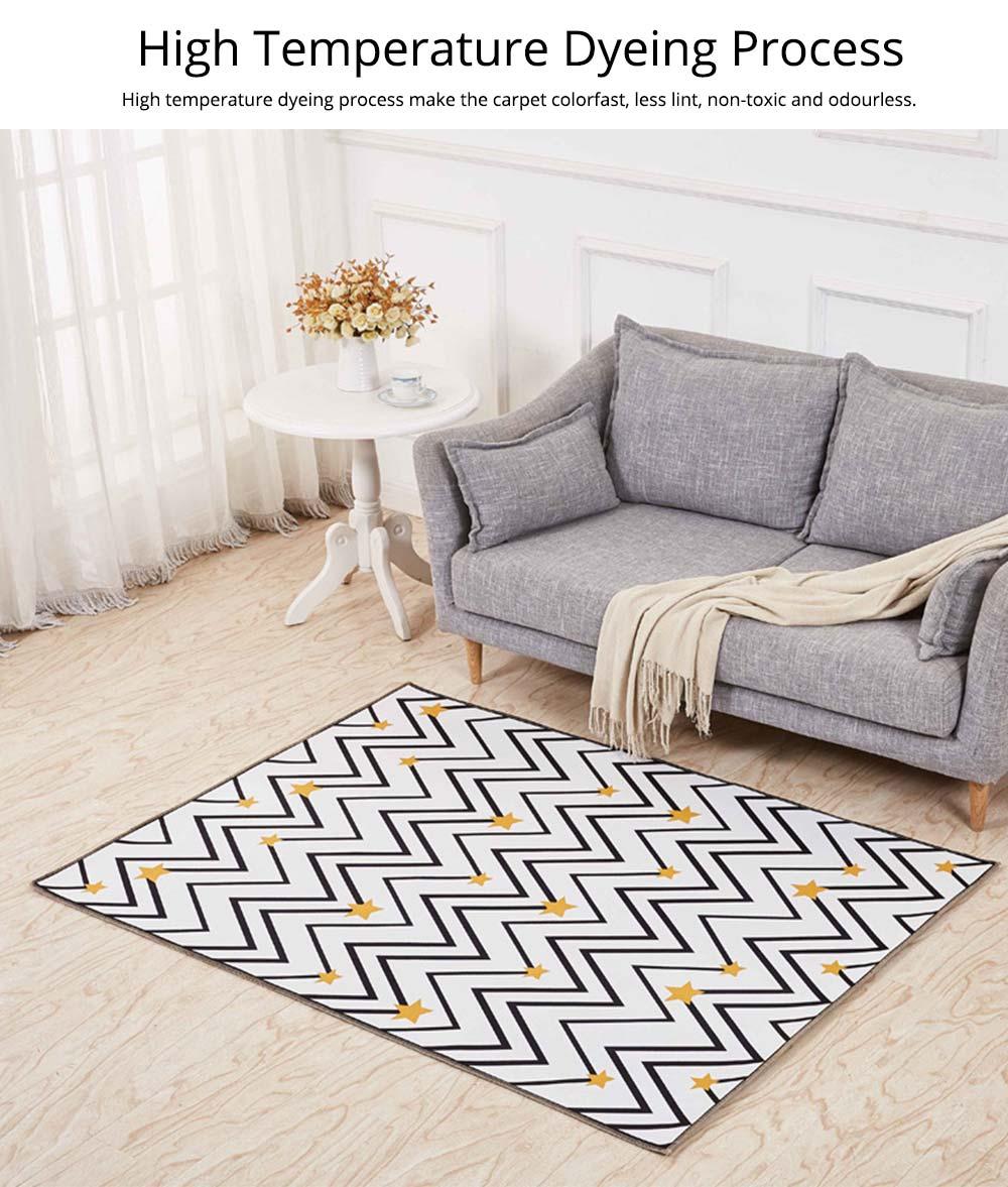 Non-slip Rugs, 3D Geometric Carpet, Modern Floor Mat for Living Room, Bedroom 5
