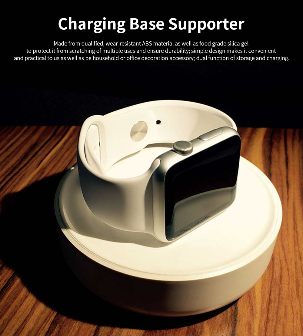 Charging Base Supporter for iWatch, iWatch Charging Stand Charger Supporter on Table or Bedside 0