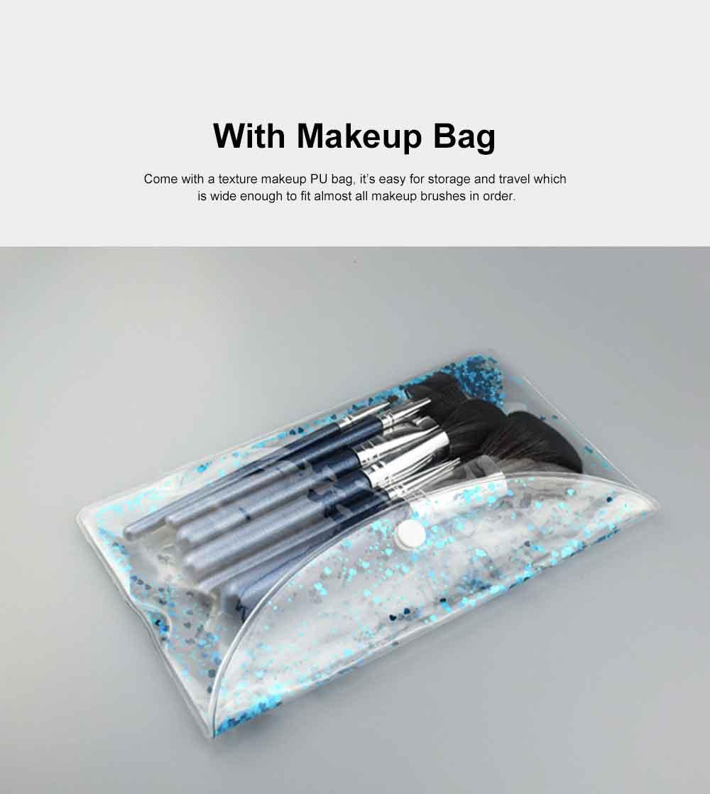 Makeup Brush Set Eye Makeup Brushes for Eye-shadow Concealer Eyeliner Brow Blending Brush Cosmetic Tool 4