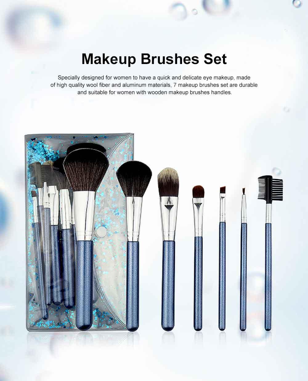 Makeup Brush Set Eye Makeup Brushes for Eye-shadow Concealer Eyeliner Brow Blending Brush Cosmetic Tool 0