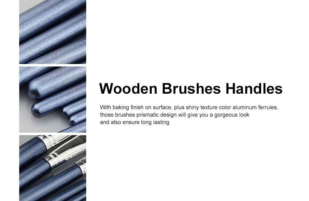 Makeup Brush Set Eye Makeup Brushes for Eye-shadow Concealer Eyeliner Brow Blending Brush Cosmetic Tool 3