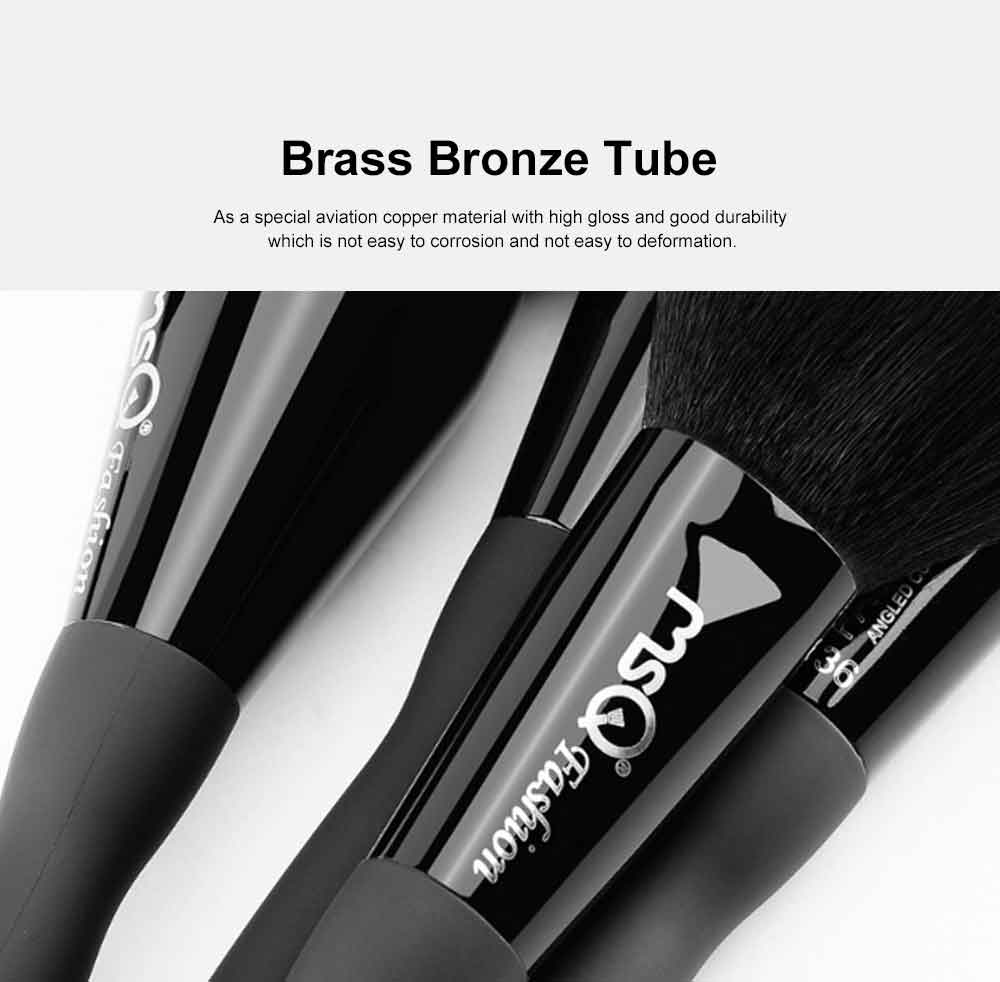 10PCS Sexy Mini Waist Makeup Brushes with Magnet Brush Barrels 2