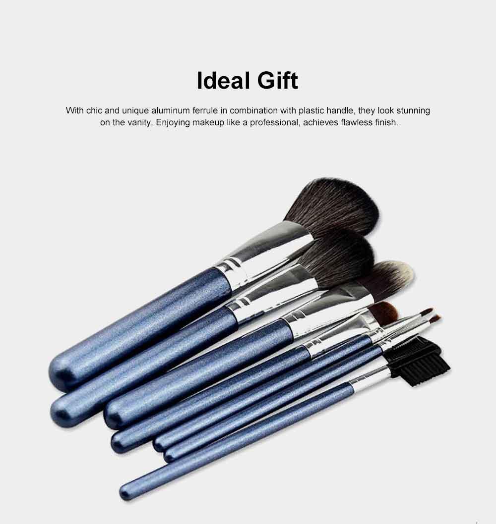 Makeup Brush Set Eye Makeup Brushes for Eye-shadow Concealer Eyeliner Brow Blending Brush Cosmetic Tool 6