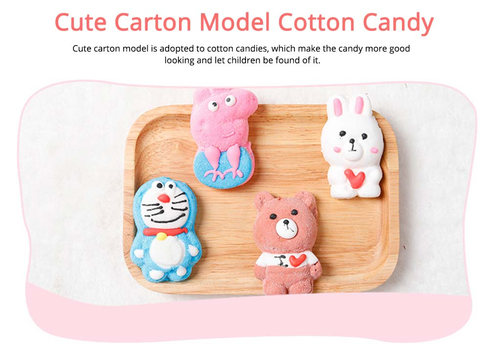 Cute Creative Candy Marshmallow Lollipop Gift Box for Children, Delicate Carton Painting Sticker Candy Present for Lovers Family 1