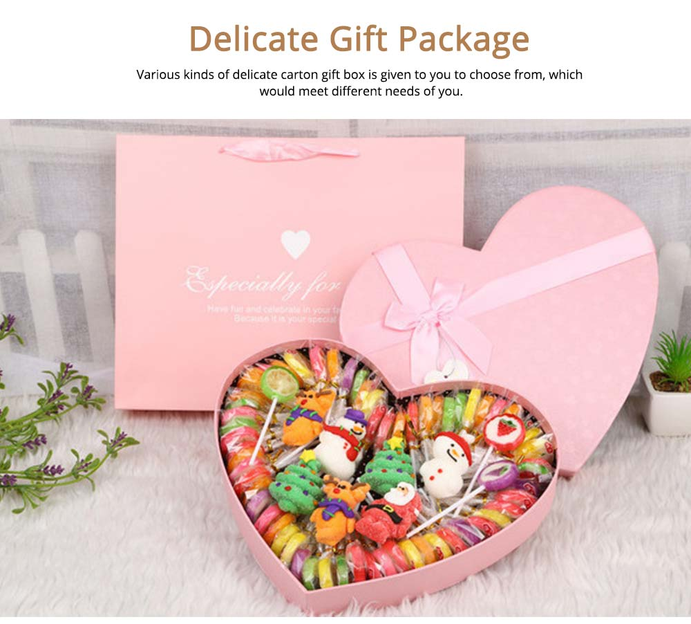 Fancy Easter Candy Gift Box  for Kids, Cotton Candy Marshmallow Lollipop Chocolate  12