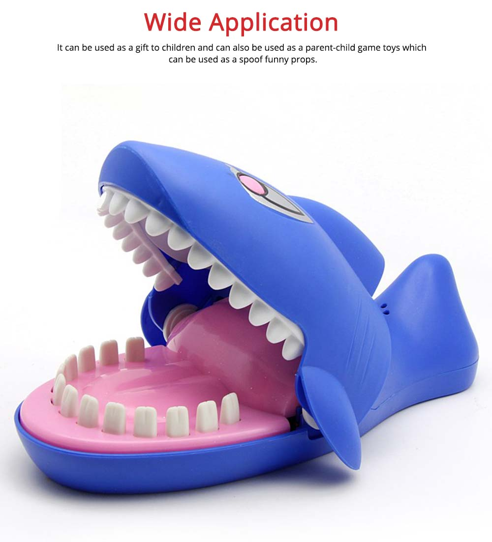 Small Tricky Animal Toys, Lifelike Teeth Finger Biting Toy with Lights and Sound Effects, Perfect Gift for Children 4