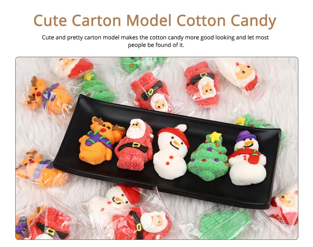 Fancy Easter Candy Gift Box  for Kids, Cotton Candy Marshmallow Lollipop Chocolate  9