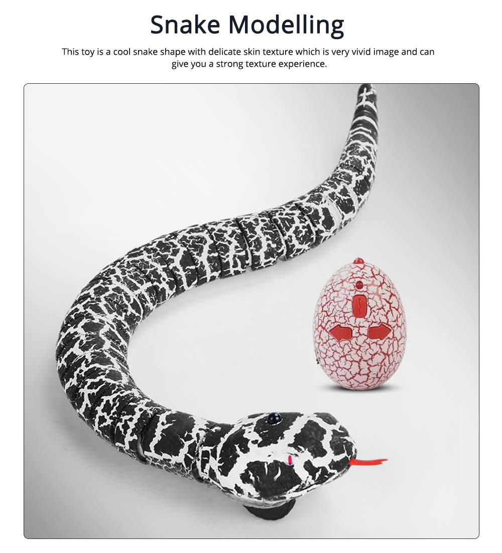 Imitation Electric Snake Wacky Toy With USB Charging Cable, Flexible Joints & Remote Control 1