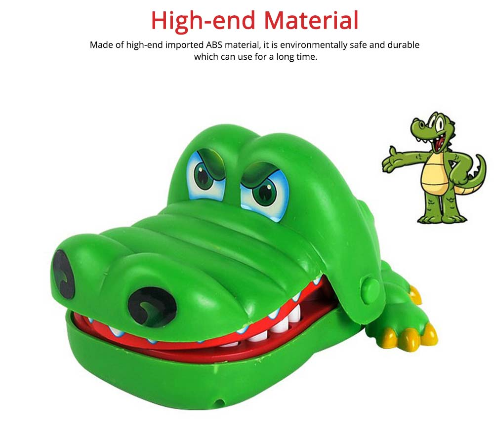 Small Tricky Animal Toys, Lifelike Teeth Finger Biting Toy with Lights and Sound Effects, Perfect Gift for Children 2