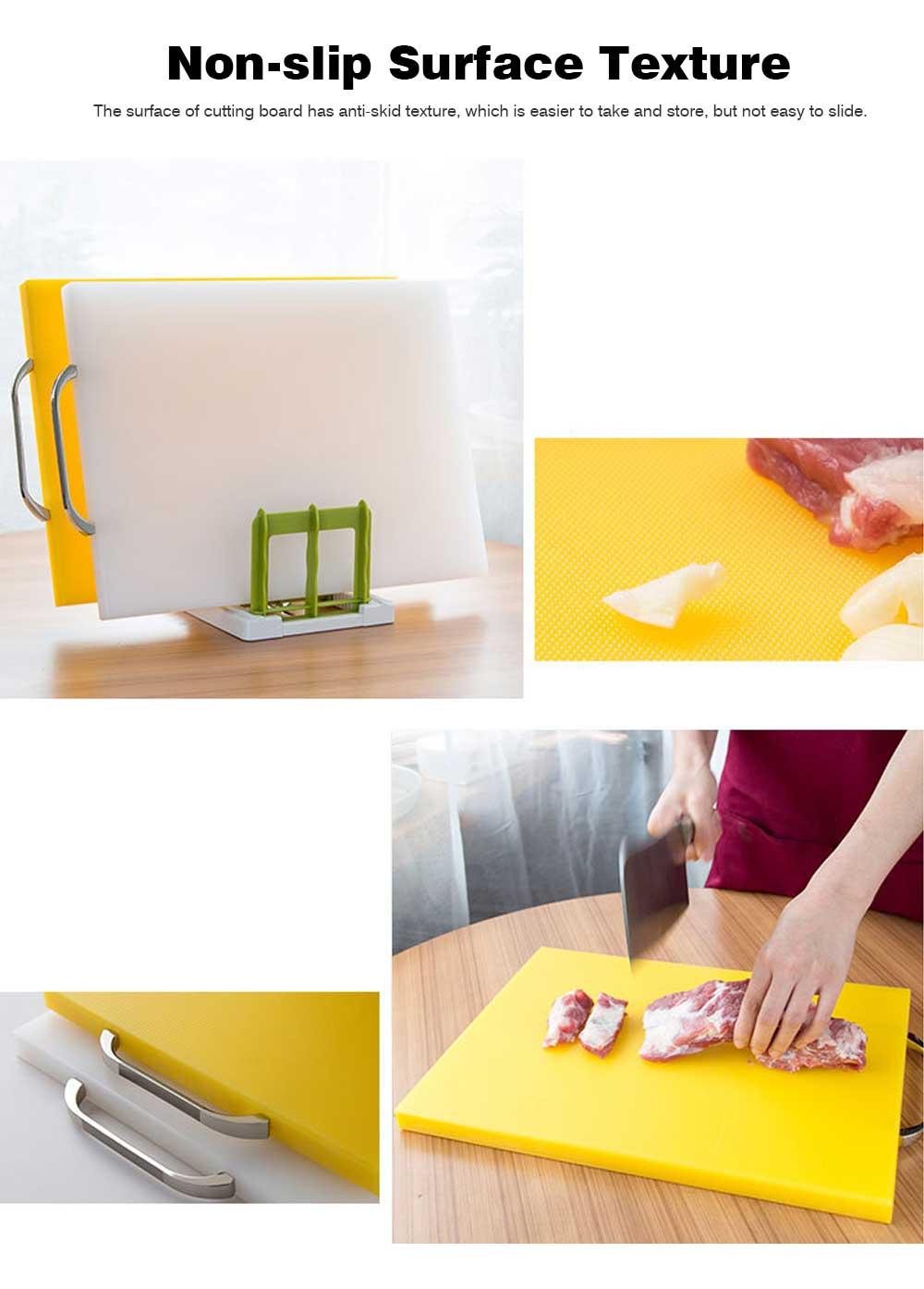 Anti-slip Multi-function Cutting Board, High-quality PE Cutting Board for Cutting Cooked Food, Vegetables, Fruits 5
